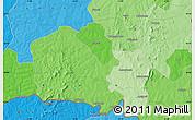 Political Map of Gaoua