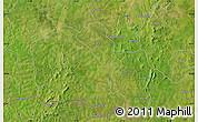 Satellite Map of Gaoua
