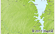 Physical Map of Auna
