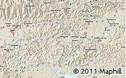 Shaded Relief Map of Santa Teresa