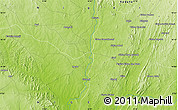 Physical Map of Igede