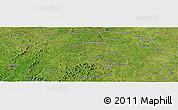 "Satellite Panoramic Map of the area around 10°7'21""N,6°43'29""W"