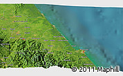 Satellite 3D Map of Puerto Limón