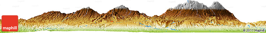 Physical Horizon Map of Turrujal