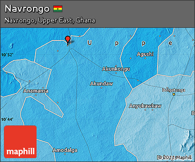 Political Map of Navrongo
