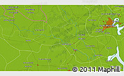 Physical 3D Map of Ấp Hòa Qứi