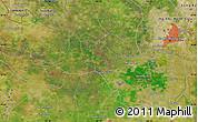 "Satellite Map of the area around 10°38'32""N,106°19'29""E"