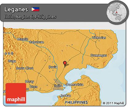 Free Political D Map Of Leganes - Leganés map