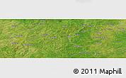 "Satellite Panoramic Map of the area around 10°38'32""N,1°37'30""W"