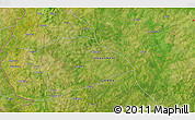"""Satellite 3D Map of the area around 10°38'32""""N,2°28'30""""W"""