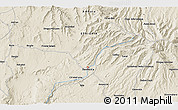 """Shaded Relief 3D Map of the area around 10°38'32""""N,37°28'30""""E"""