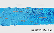 """Political Panoramic Map of the area around 10°38'32""""N,37°28'30""""E"""