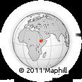 Outline Map of Shikif, rectangular outline