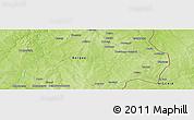 Physical Panoramic Map of Korohui