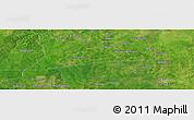 "Satellite Panoramic Map of the area around 10°38'32""N,3°28'30""E"