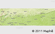 Physical Panoramic Map of Monon