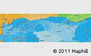 Political Panoramic Map of Monon