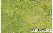 """Satellite Map of the area around 10°38'32""""N,5°52'30""""W"""