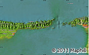 """Satellite Map of the area around 10°38'32""""N,61°58'30""""W"""