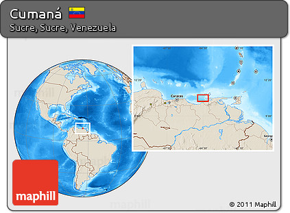 Cumana Map 42643 MOVIEWEB
