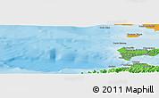 Political Panoramic Map of Cumaná
