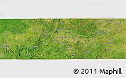 Satellite Panoramic Map of Chimana