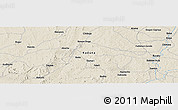 Shaded Relief Panoramic Map of Chimana