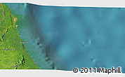 """Satellite 3D Map of the area around 10°38'32""""N,83°13'29""""W"""