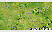 """Satellite 3D Map of the area around 10°38'32""""N,8°34'29""""E"""