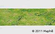 "Satellite Panoramic Map of the area around 10°38'32""N,8°34'29""E"