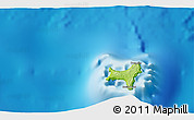 Physical 3D Map of Flying Fish Cove