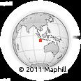 Outline Map of Settlement, rectangular outline