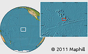 "Satellite Location Map of the area around 10°17'43""S,139°19'29""W"