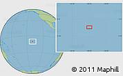 "Savanna Style Location Map of the area around 10°17'43""S,139°19'29""W"