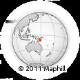 Outline Map of Kapari, rectangular outline