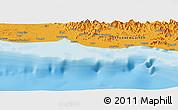 Political Panoramic Map of Anamaro