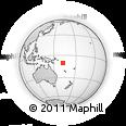 Outline Map of Toroa, rectangular outline