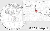 Blank Location Map of Culóvua