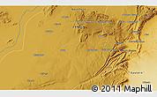 Physical 3D Map of Charles Pambalashi