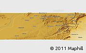 Physical Panoramic Map of Charles Pambalashi