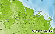 Physical Map of Ntandi