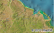 Satellite Map of Ntandi