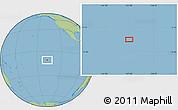 "Savanna Style Location Map of the area around 10°48'54""S,137°37'30""W"