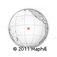 """Outline Map of the Area around 10° 48' 54"""" S, 137° 37' 30"""" W, rectangular outline"""
