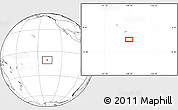 """Blank Location Map of the area around 10°48'54""""S,138°28'29""""W"""