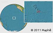 "Satellite Location Map of the area around 10°48'54""S,138°28'29""W"