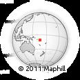 Outline Map of Lata, rectangular outline