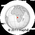 Outline Map of Quipeio, rectangular outline