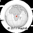 Outline Map of Katobyo, rectangular outline