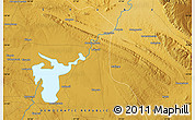 """Physical Map of the area around 10°48'54""""S,27°16'29""""E"""